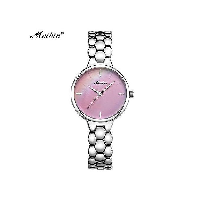 Pour Bracelet Montre Quartz A Violet Femme Etanche f76gbyvIY