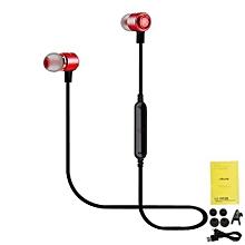 le-225bl - ecouteur bluetooth 4.1 - sans fil - rouge