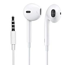 earpods - ecouteurs    pour iphone 5/6 blanc