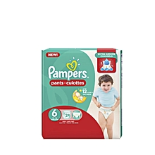 pampers couches-culottes taille 6 (16kg+) - 24  couches