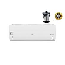 climatiseur split dual inverter - blanc - 12000 btu - garantie 6 mois kit de liaison frigo fourni avec presses agrumes