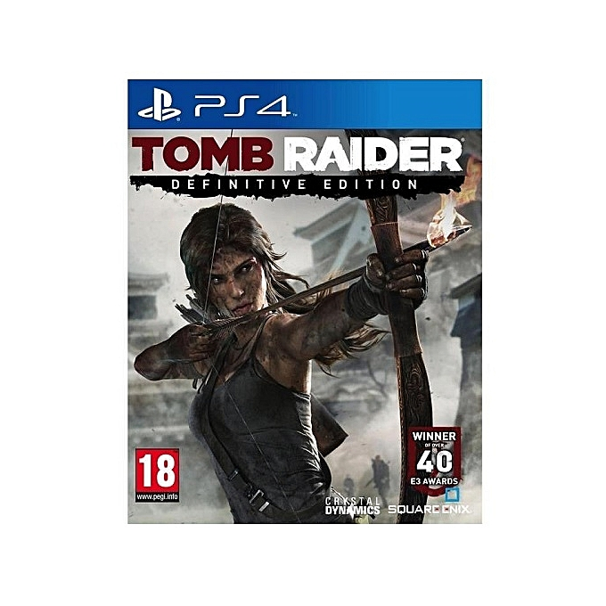 Tomb Rider Wallpaper: Sony Tomb Raider Edition Definitive - PS4