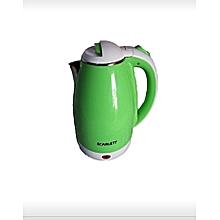 bouilloire electrique - 1500 w - 2 litres - vert
