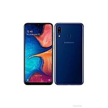 galaxy a20 (2019) - ecran 6.4''- ram 3go - rom 32 go - caméra 13mp+5mp front 8mp - batterie 4000 mah - bleu